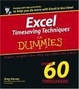 Cover of Excel Timesaving Techniques For Dummies