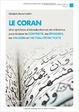 Cover of Le coran