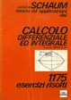Cover of Calcolo differenziale e integrale