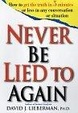 Cover of Never be Lied to Again