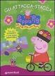 Cover of Gli attacca-stacca di Peppa Pig. Hip hip urrà per Peppa! Con adesivi