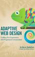 Cover of Adaptive Web Design