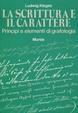 Cover of La scrittura e il carattere