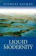 Cover of Liquid Modernity
