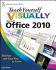 Cover of Teach Yourself VISUALLY Office 2010