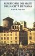 Cover of Repertorio dei matti della città di Parma