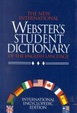 Cover of The New International Webster's Student Dictionary of the English Language