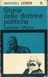 Cover of Storia delle dottrine politiche