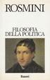 Cover of Filosofia della politica