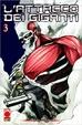 Cover of L'attacco dei giganti vol. 3