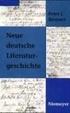 Cover of Neue deutsche Literaturgeschichte