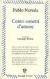 Cover of Cento sonetti d'amore