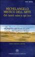 Cover of Michelangelo mistico dell'arte. Deh fammiti vedere in ogni loco