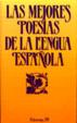 Cover of Las mejores poesías de la lengua española
