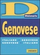 Cover of Dizionario genovese