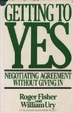 Cover of Getting to yes