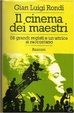 Cover of Il cinema dei maestri