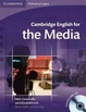 Cover of Cambridge English for the Media Student's Book with Audio CD