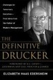 Cover of The Definitive Drucker
