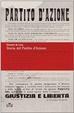 Cover of Storia del Partito d'Azione