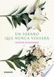 Cover of Un verano que nunca volverá