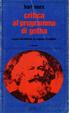 Cover of Critica al programma di Gotha