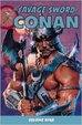 Cover of The Savage Sword of Conan: v. 9