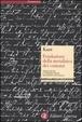Cover of Fondazione della metafisica dei costumi