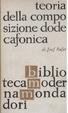 Cover of Teoria della composizione dodecafonica