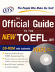 Cover of The Official Guide to the New TOEFL iBT