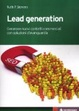 Cover of Lead generation. Generare nuovi contatti commerciali con soluzioni d'avanguardia