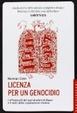 Cover of Licenza per un genocidio