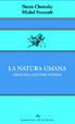 Cover of La natura umana