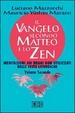 Cover of Il Vangelo secondo Matteo e lo zen