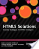 Cover of HTML5 Solutions