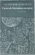 Cover of Curso de literatura europea