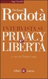 Cover of Intervista su privacy e libertà