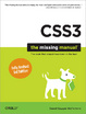 Cover of CSS3: The Missing Manual