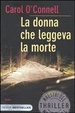 Cover of La donna che leggeva la morte
