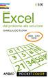 Cover of Excel. Dal problema alla soluzione