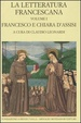 Cover of La letteratura francescana - vol. I