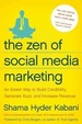 Cover of The Zen of Social Media Marketing