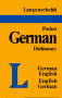 Cover of Langenscheidt Pocket German Dictionary