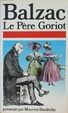 Cover of Le Père Goriot