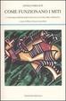Cover of Come funzionano i miti