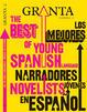 Cover of Granta: Los mejores narradores jóvenes en español