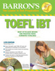 Cover of Barron's TOEFL IBT