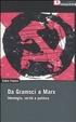 Cover of Da Gramsci a Marx. Ideologia, verità, politica