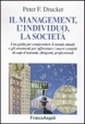 Cover of Il management, l'individuo, la società