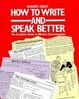 Cover of Reader's Digest How to Write and Speak Better Hb